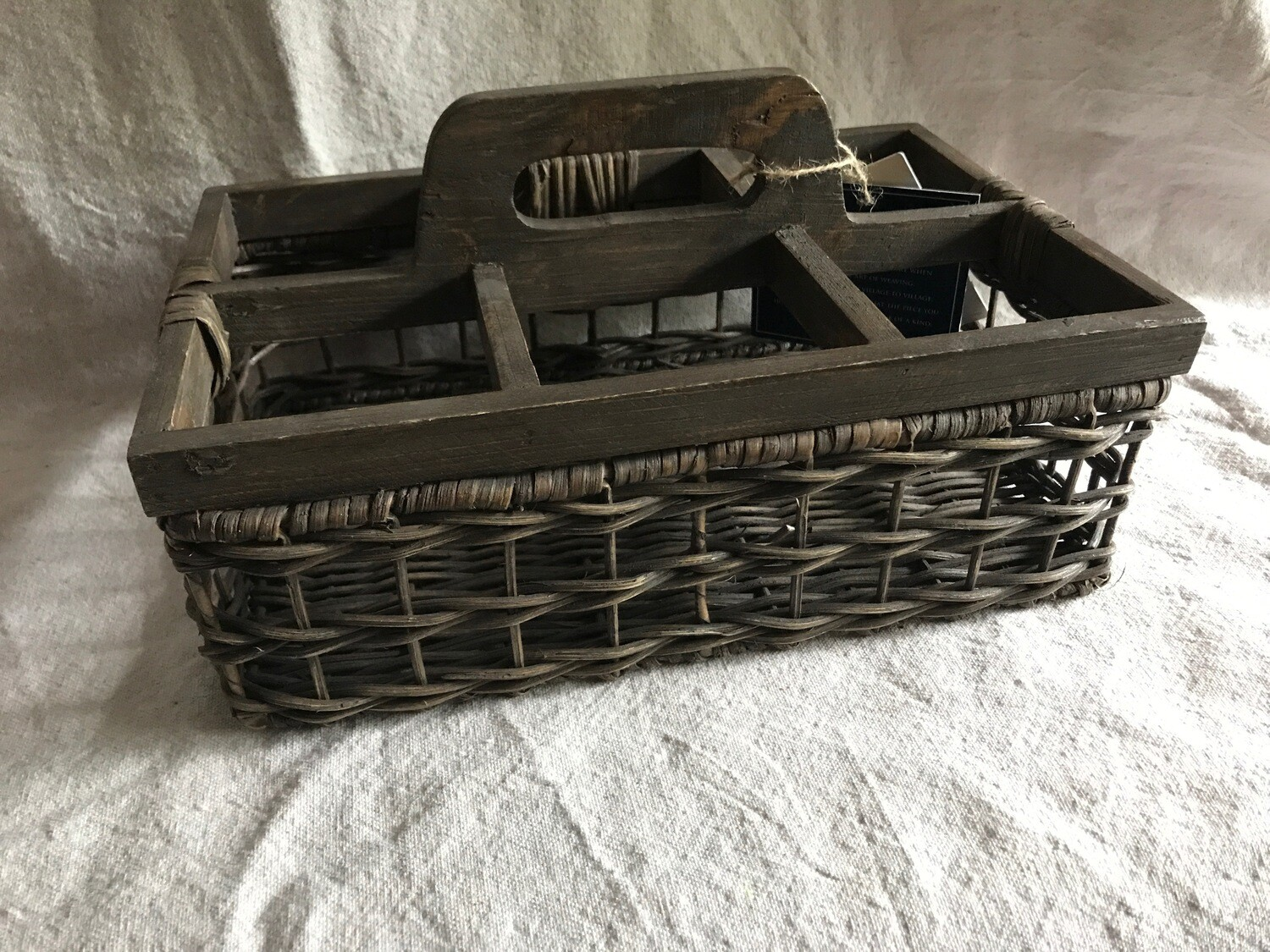 Tommy Bahama 6 Compartment Basket