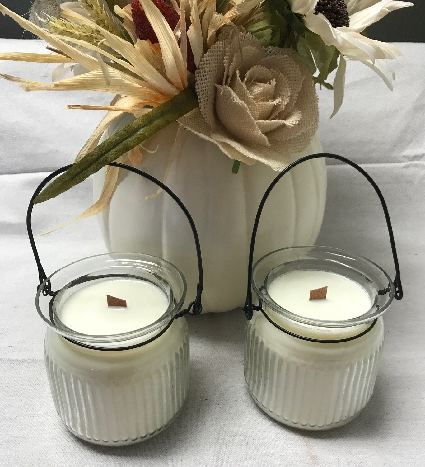 Orange Blossom Soy Blend Candles in Glass Containers