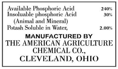 JRV American Agriculture Stencil