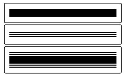 JRV Grain Sack Stripes Stencil