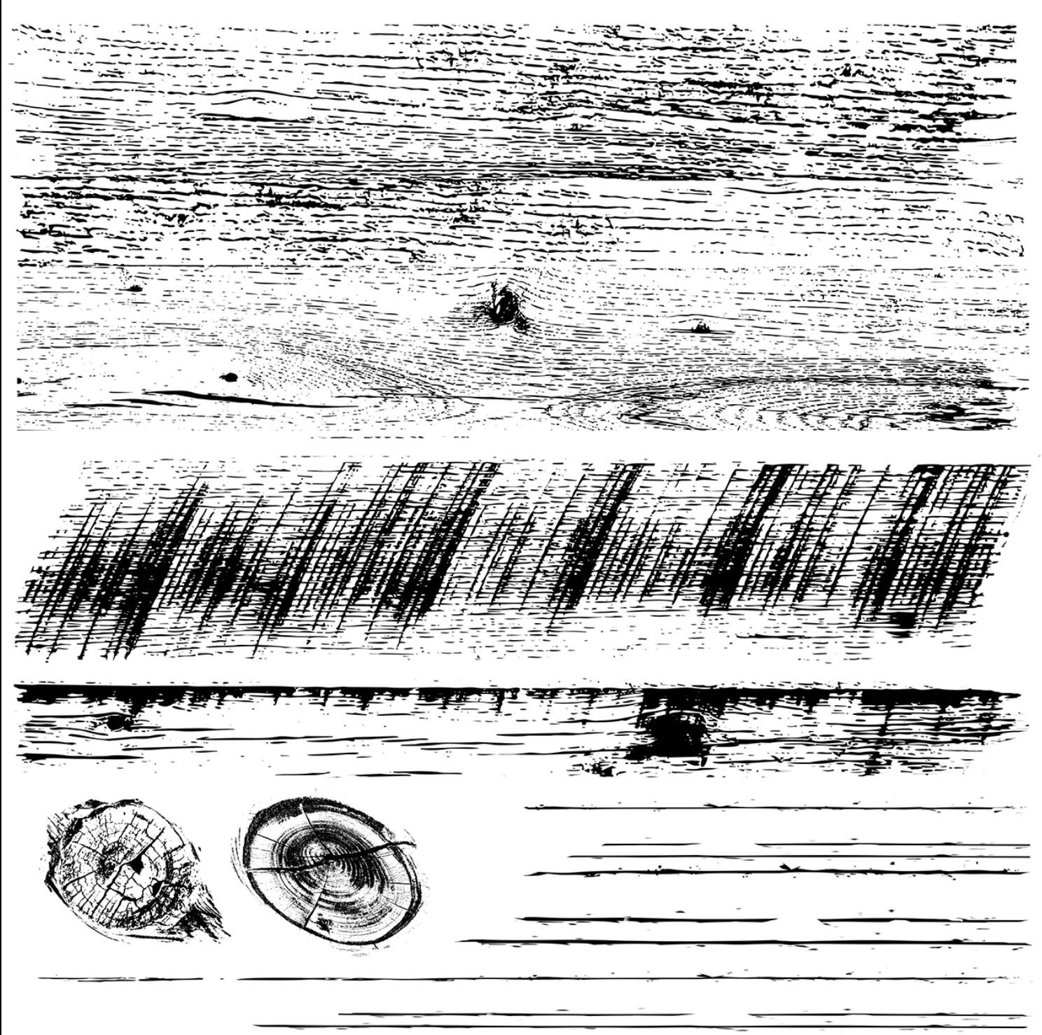 IOD BARNWOOD PLANKS  12×12 2 Sheets DECOR STAMP