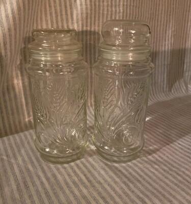 Vintage Anchor Hocking Planter's Peanuts Glass Jars