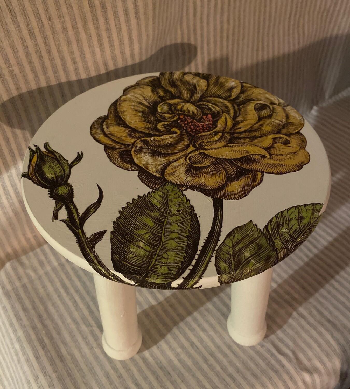 Decorative Mini Wood Stool