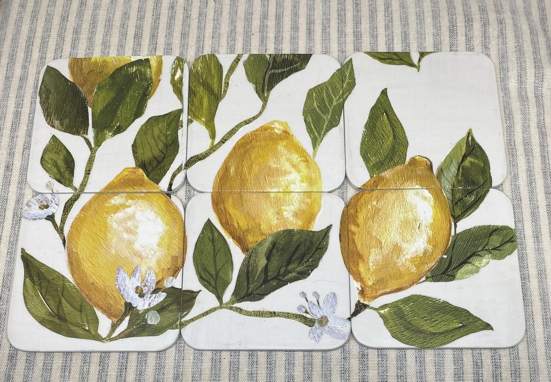 Lemon Tree Coaster Sets of 6