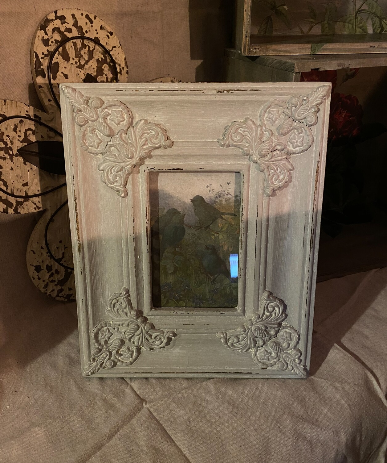 French Country Inspired 4X6 Wood Frame