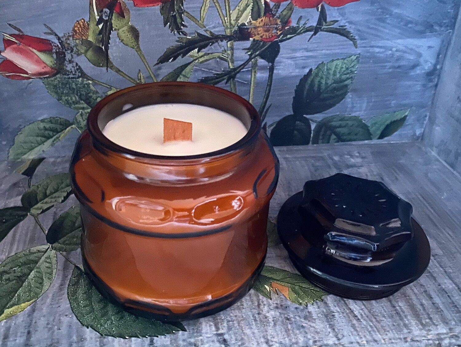 Bamboo & Coconut Soy Wax Container Candle 8oz
