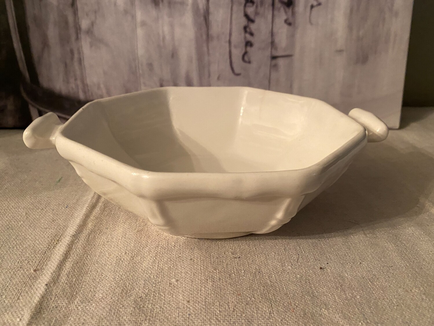 Vintage California USA Pottery Oven Proof Dish 121