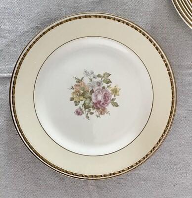 Homer Laughlin Eggshell Georgian English Regency Dessert Plate