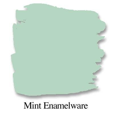 Bungalow 47 Chalk Style Paint Mint Enamelware 8oz