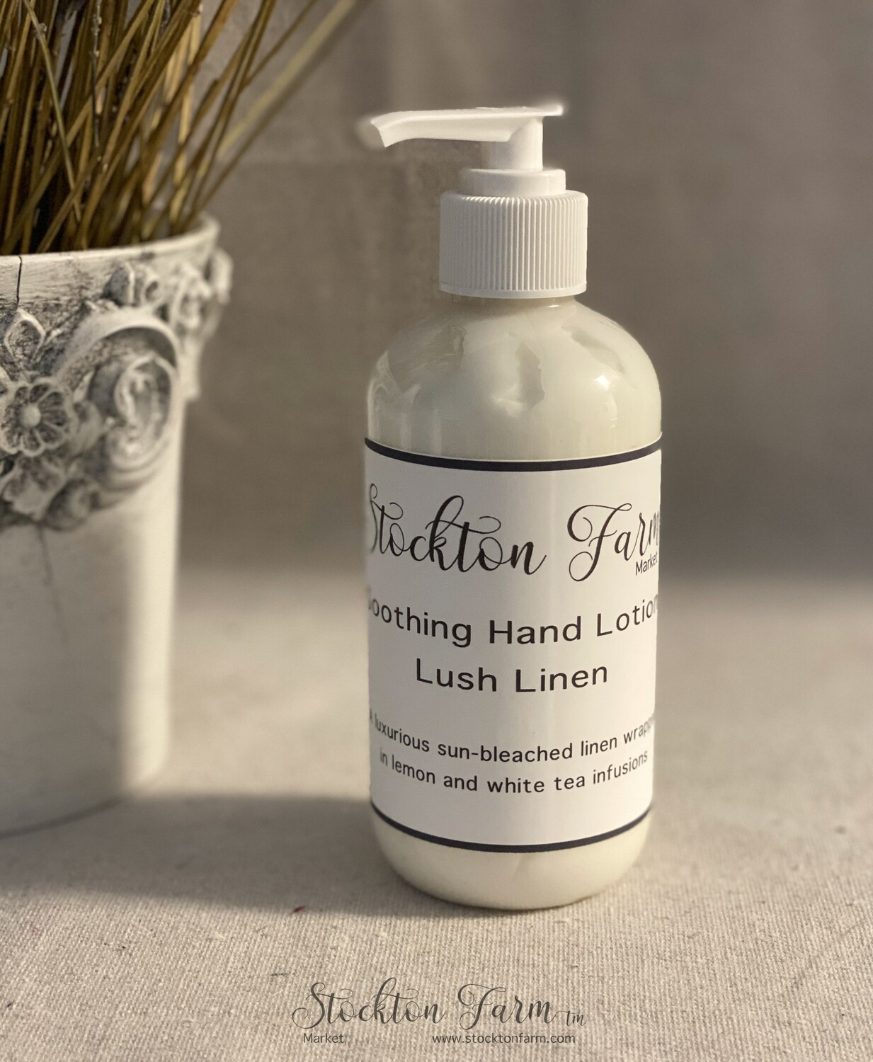 Lush Linen Soothing Hand Lotion 8oz