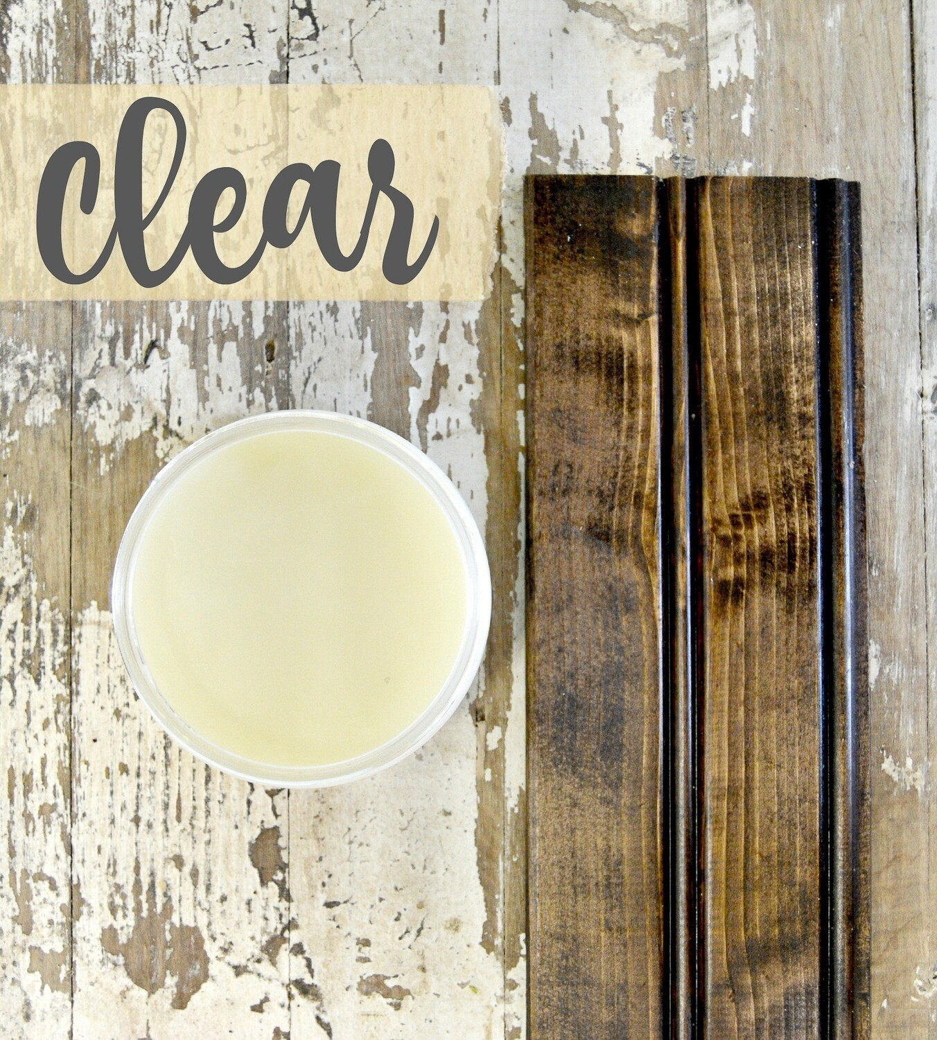 Sweet Pickins Beeswax Furniture Polish Clear 8oz