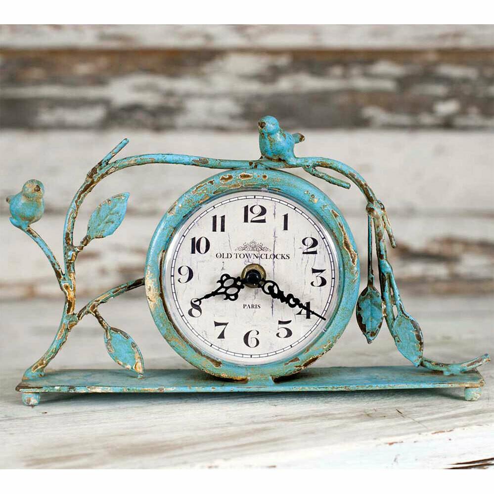 Old Town Clocks Songbird Mantel Clock