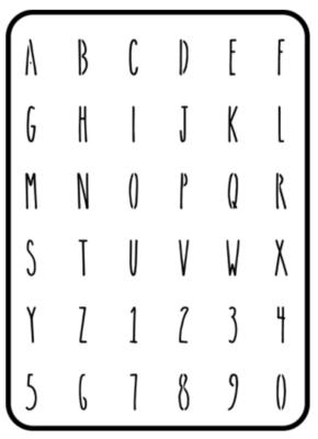JRV Farmhouse Mini Letters 1