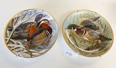 Franklin Porcelain Plate Water Birds of the World By Basil Ede