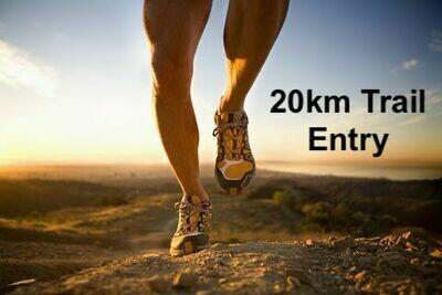 Race entry 20Km Trail Run