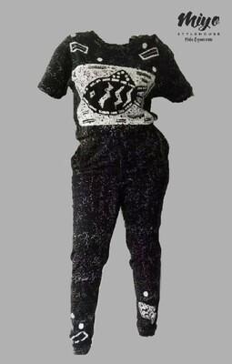 Fly Fish Vintage Hawaiian Jumpsuit - M