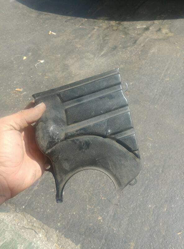 Rb motor lower timing belt cover (used)