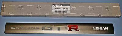 GENUINE NISSAN SKYLINER34 GTR COIL PACK COVER EMBLEM A3B90-AB000