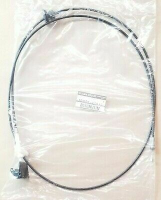 GENUINE NISSAN SKYLINE R32 HOOD RELEASE CABLE ASSMEBLY 65620-01U10