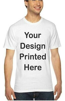 Custom Sublimation Design T-Shirts (8.5 x 11 Print)