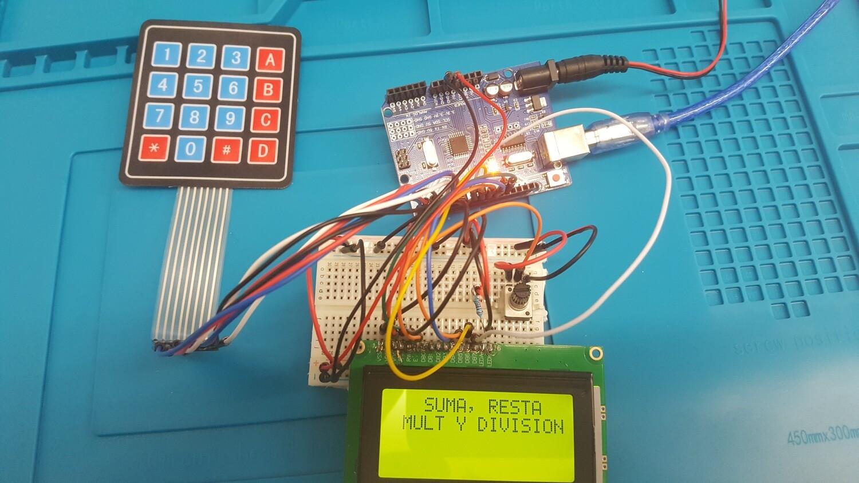 Kit Calculadora Arduino