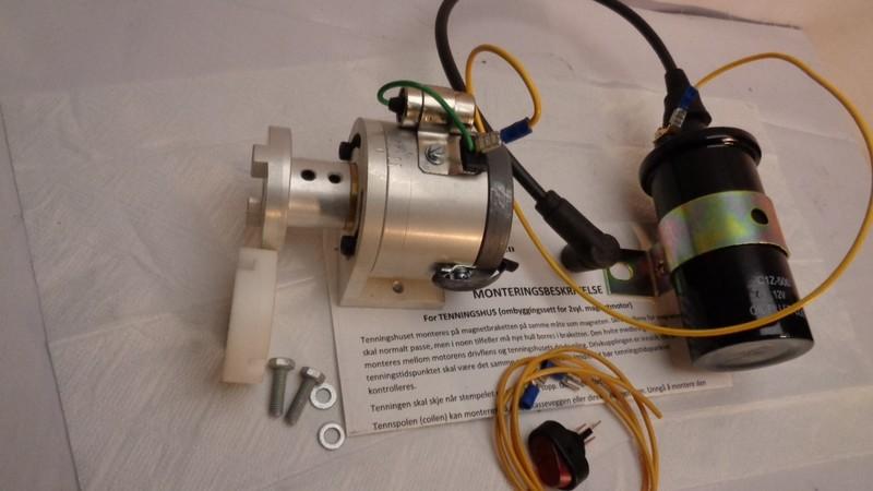 Tenningsanlegg for 1-sylindrede motorer