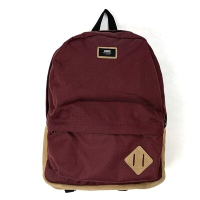 Vans Old Skool II Backpack Maroon