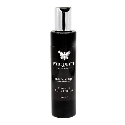 Hairbond® Etiquette - Black Series - Body (Majestic 100ml Body Lotion