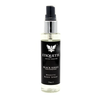 Hairbond® Etiquette - Black Series - Body (Majestic 75ml Body Perfume)
