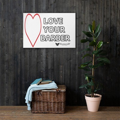 Hairbond® Love Your Barber Canvas