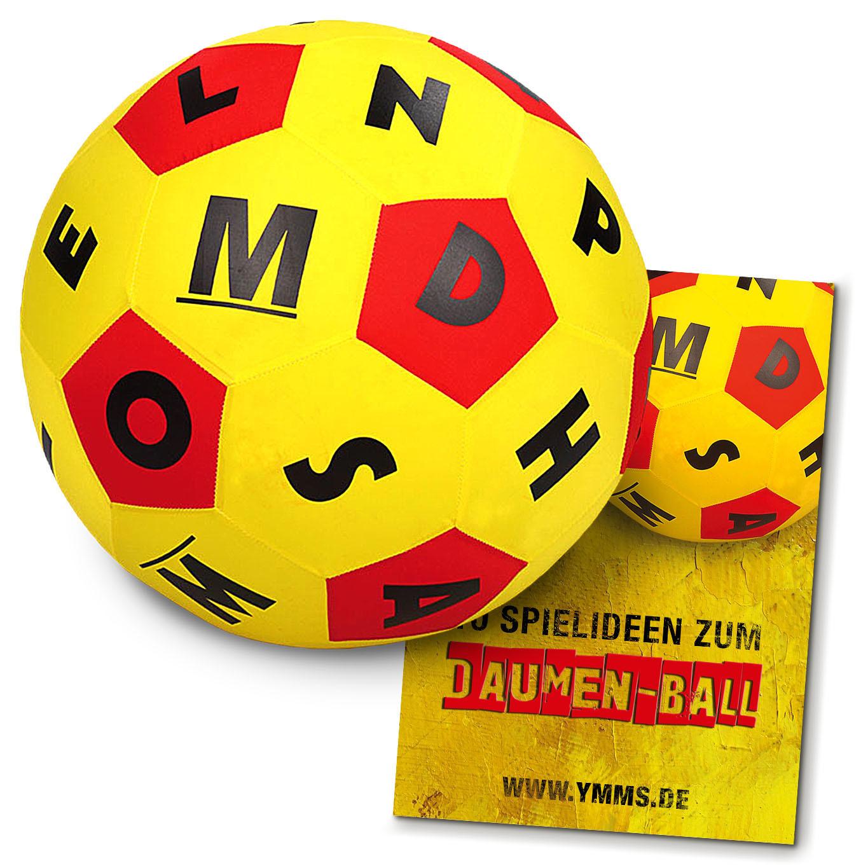 Daumenball inkl. Begleitheft