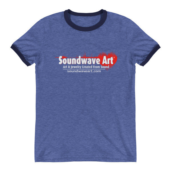 Soundwave Art™ Ringer T-Shirt
