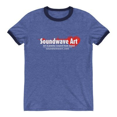 Soundwave Art™ Ringer T-Shirt