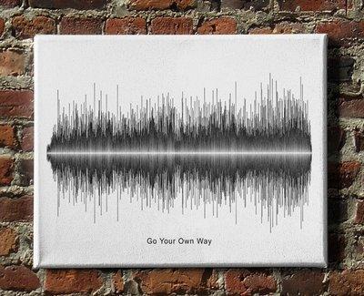 Fleetwood Mac - Go Your Own Way Soundwave Canvas