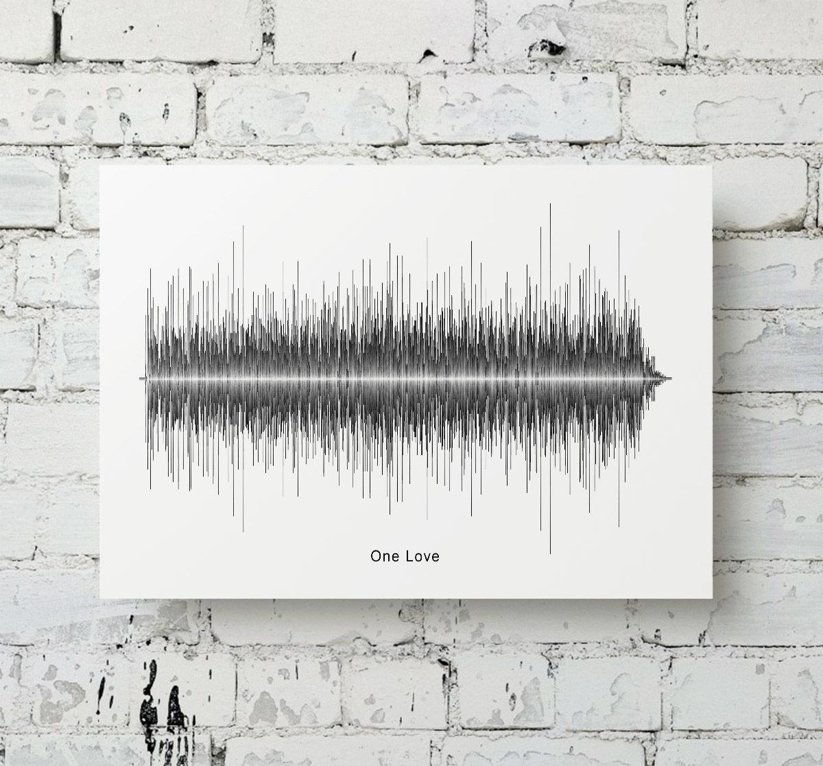 Bob Marley - One Love Soundwave Metal
