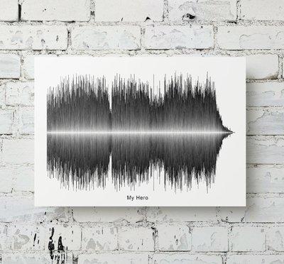 Foo Fighters - My Hero Soundwave Metal