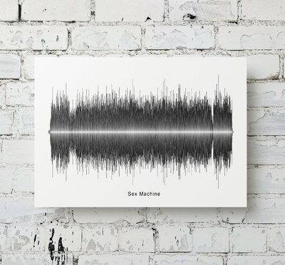 James Brown - Sex Machine Soundwave Metal