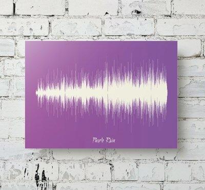 Prince - Purple Rain Soundwave Metal