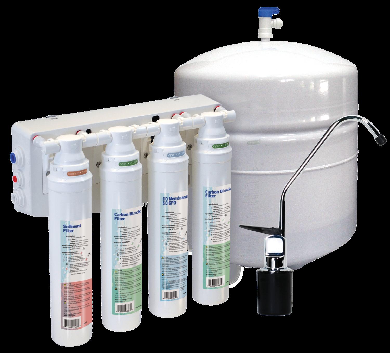 Aqua Flo Platinum Quick Change Reverse Osmosis, 75 GPD