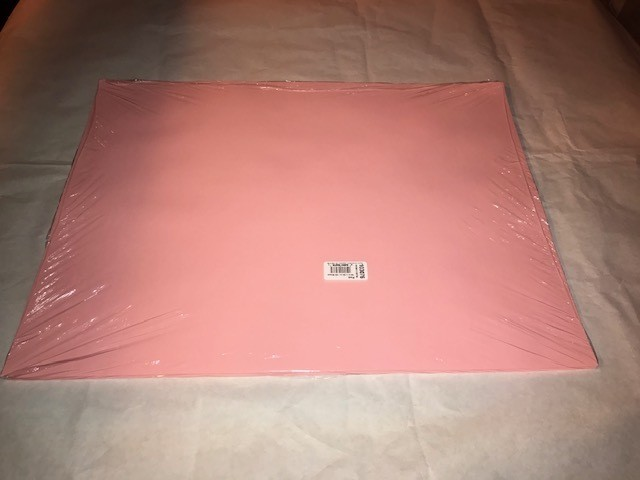 """Paper, Pink, Construction, 18""""x24"""", 80#, 100% Vat Dyed Sulphite, 50sheets/package"""