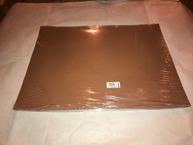 "Paper, Warm Brown, Construction, 18""x24"", 80#, 100% Vat Dyed Sulphite, 50sheets/package"
