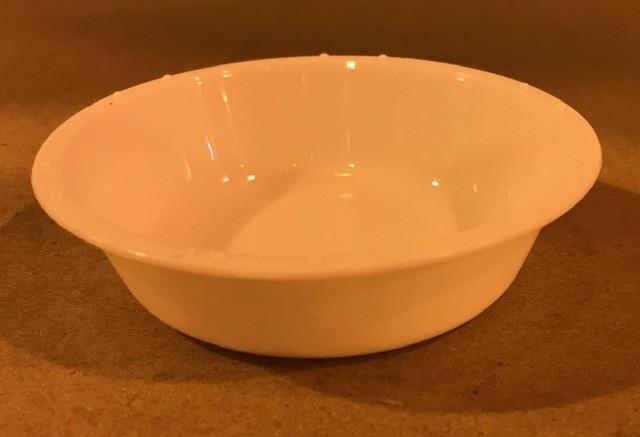 CUP, PAINT, WATERCOLOR, 2 OZ WHITE PLASTIC, 12 PER PACK