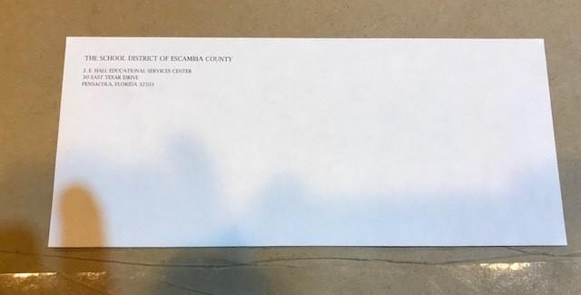 Envelope, #10 Hall Center Letterhead, self-seal, 500/Box