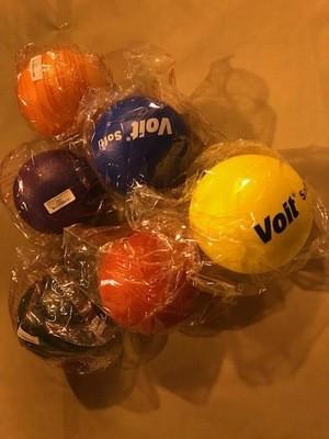 Ball, foam, soft-low bounce, 6-1/4