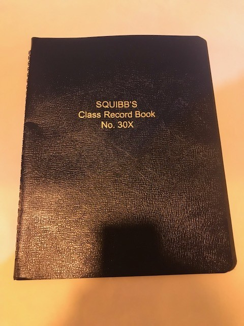 Roll/Grade Book, #30X, 39 Lines, 9-Week Periods, 8-1/2x11 Squibb