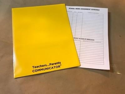 Nicky Folder, Yellow, Communicator (Order 50 per box) 300/cs
