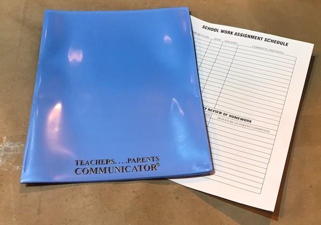 Nicky Folder, Powder Blue, Communicator (Order 50 per box) 300/cs