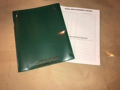 Nicky Folder, Green, Communicator (Order 50 per box) 300/cs