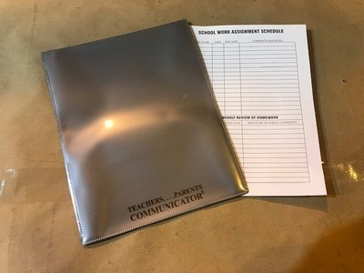 Nicky Folder, Silver, Communicator (Order 50 per box) 300/cs