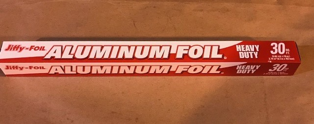 "Foil, Aluminum 18"" x 25' Heavy Duty:"